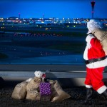Santa Lands at Heathrow
