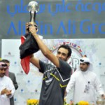 World Champion Ramy Ashour from Egypt wins this year's squash tournament in Doha