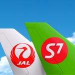 S7 Airlines и JAL открывают совместные рейсы