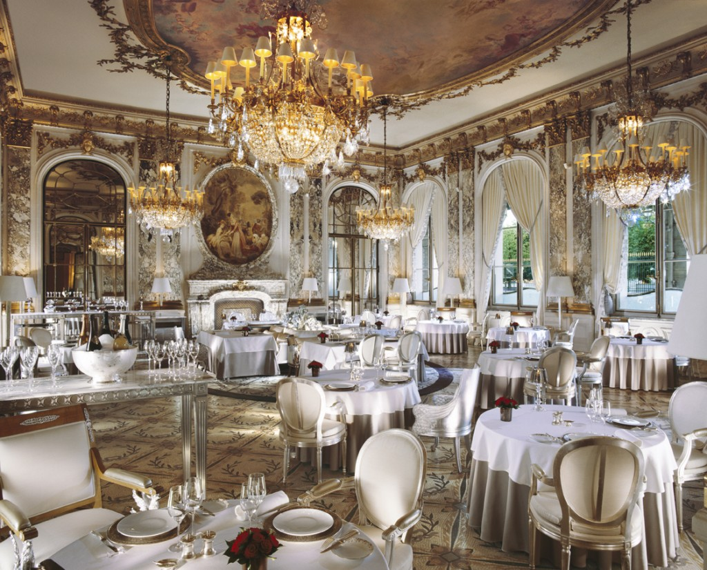 The first palace hotel in Paris Hotel Le Meurice invited Alain Ducasse to take over the management of its restaurants