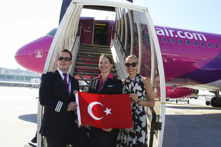 Wizz Air to fly four times a week on the Budapest - Istanbul route, and daily from March 2014