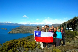 2013 AdventureWeek Chile Participants #FeelingChile in Aysen.