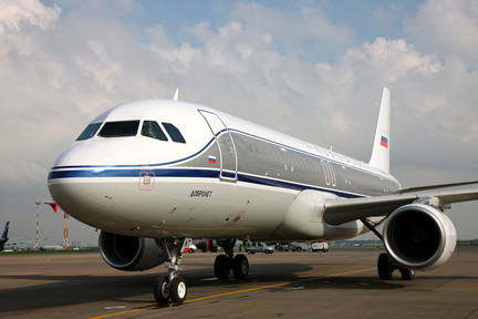 Aeroflot Celebrates 10 years with Airbus A-320