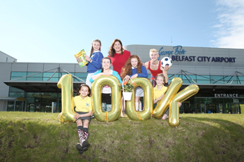 George Best Belfast City Airport expands its Community Fund that provides financial support to  youth projects in Belfast