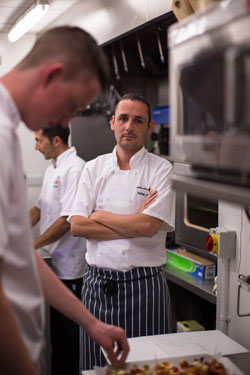 Jersey Opera House Chef Peter O'Neill won award for Most Outstanding Professional Chef at Highlands College