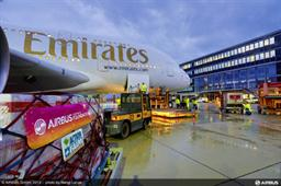 Airbus Corporate Foundation, Emirates Airline, and action against Hunger partner to deliver humanitarian cargo