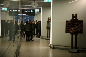 BUD Gallery exhibition space opens at Budapest Airport