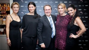 Four Seasons Hotel Prague and luxury brands Bvlgari, Brioni, Laurent-Perrier, and Tatiana Kovaříková hosted charity dinner for Pink Bubble Foundation