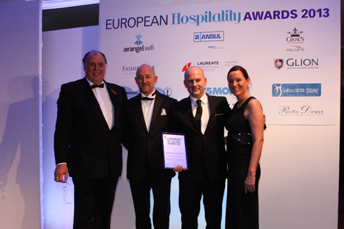 The Radisson Blu Hotel, Nantes in France recognised as Opening of the Year 2013 at European Hospitality Awards 2013