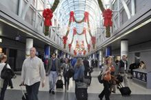 Chicago Department of Aviation (CDA) expects over four million passengers will travel through Chicago's airports for the holiday