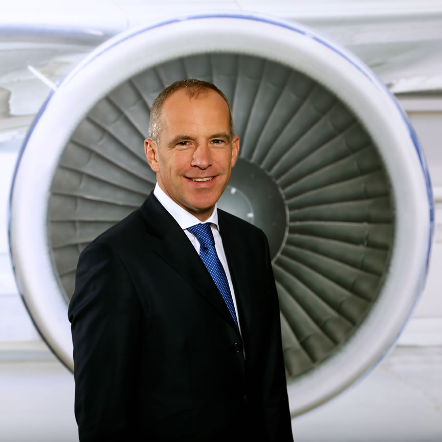 Christoph Debus, Chairman of Thomas Cook Group Airlines and CEO of Thomas Cook Airlines UK