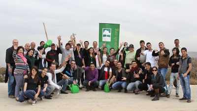 Four Seasons Hotel Amman and Al Shajarah Society planted 500 Almond and Oak trees in Berein as part of reforestation project