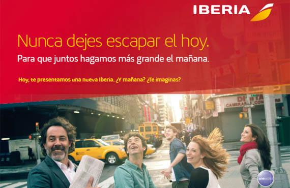 Iberia estrena hoy en redes sociales y televisión su primera campaña de publicidad desde que lanzó su nueva imagen