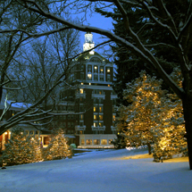 Holiday Lights at the Homestead The Homestead. Courtesy Virginia Tourism Corporation.