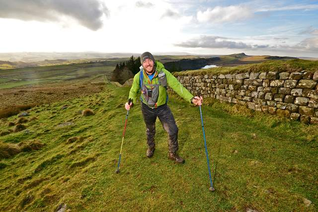 Jersey: Hotel Cristina general manager Steve Hayes completed the Spine Race - 'Britain's toughest endurance event'
