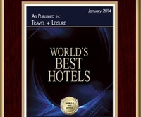 Travel + Leisure Magazine featured Serengeti Serena Safari Lodge in its World's Best Hotels 2014
