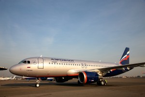 Aeroflot took delivery of new A320 fitted with Sharklets wing-tips named after Soviet cosmonaut Pavel Ivanovich Beliaev