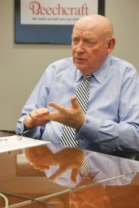Bill Boisture, CEO of Beechcraft. Bill ranks #9 in TravelPRNews.com's list of the private jet industry's top executives.