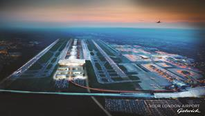 Farrell's London - image of a two-runway Gatwick