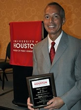 """© Houston Airport System Houston Aviation Director Mario C. Diaz was  named """"Public Official of the Year"""" by the University of Houston."""