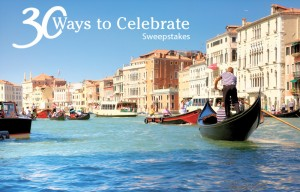Marriott Vacation Club to celebrate its 30th anniversary by giving away 30 travel prizes