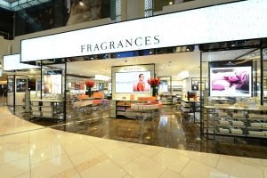 Abu Dhabi International Airport opened its new 'Fragrances by DFS' boutique