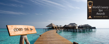 Coco Spa at Coco Bodu Hithi awarded Best Luxury Destination Spa in Maldives at World Luxury Spa Awards 2014