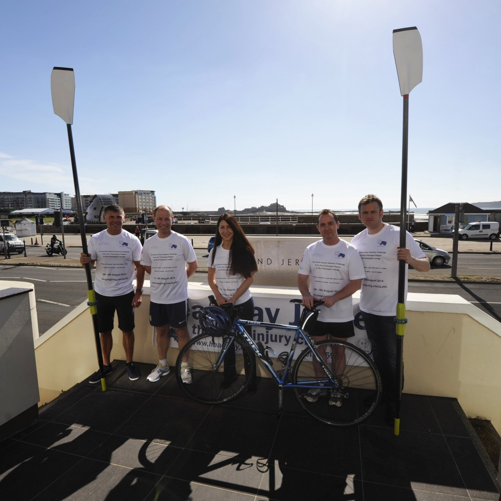 Grand Jersey Hotel & Spa team and Headway Jersey charity to take on four-day challenge through France to Jersey