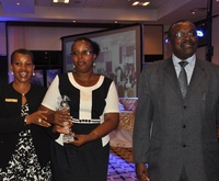 "Kigali Serena Hotel awarded ""Best in Environmental Protection Award"" by the Rwanda government"