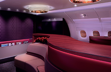 Qatar Airways' A380 First & Business Class Lounge