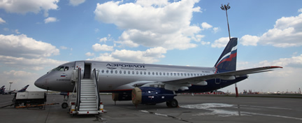 Aeroflot welcomes Sukhoi Superjet 100 to its fleet; named after Soviet pilot Khariton Tskhovrebov