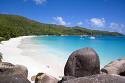 Anse Lazio Beach, situated on Praslin. Voted as one of the top 25 beaches in the world in the Choice Beaches Award 2013 by Trip Advisor. Photo courtesy Gerard Larose, STB.