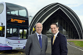 First Bus becomes Glasgow 2014 Games Sponsor