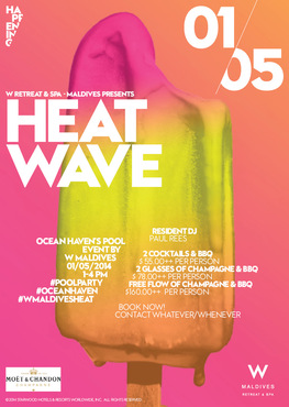 Maldives: W Retreat & Spa Maldives kicks off its series of pool parties – HEAT WAVE this May