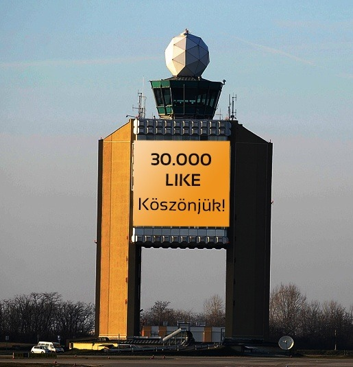 Budapest Airport Facebook page marks 30 000 likes