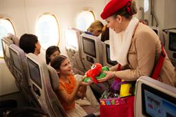 Looking after the young ones with Emirates.