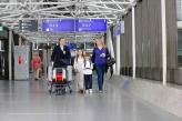 "Frankfurt Airport launched new escort service ""My Airport Guide"" that takes passengers to their departure gates on request"