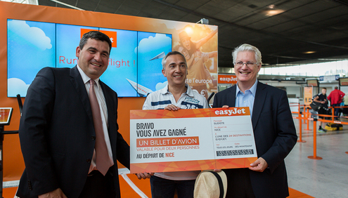 easyJet adds third Airbus A320 aircraft based at Nice Cote D'Azur airport