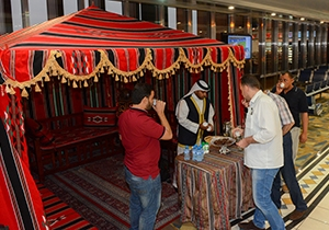 Bahrain Airport Company starts its annual Ramadan tent with light iftar snacks for passengers during the holy month of Ramadan