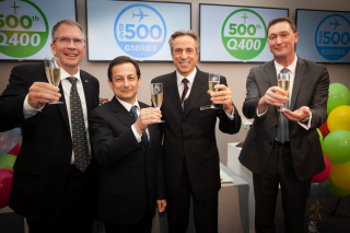 Celebrating over 500 orders and commitments for the CSeries aircraft