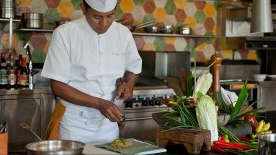 Jimbaran Bay Cooking Academy opens at Four Seasons Resort Bali at Jimbaran Bay on August 4, 2014