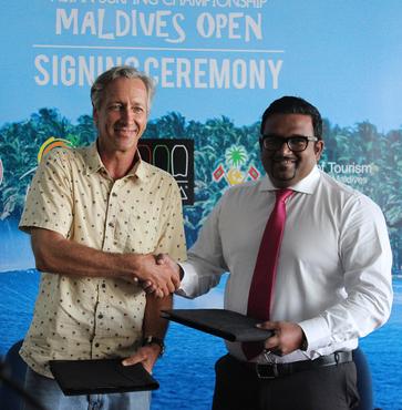 Maldives Marketing & PR Corporation to sponsor the Asian Surfing Champion Maldives