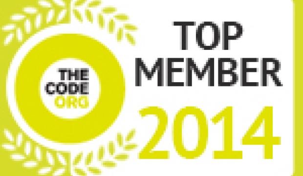 Meliá, reconocida entre los miembros más importantes de The Code de 2014