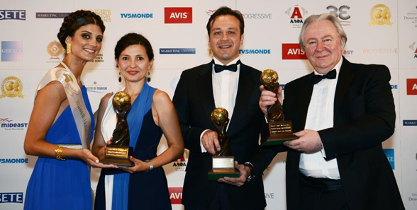 Carlson Rezidor honoured with 12 World Travel Awards for its hotels at this year's Award Gala Ceremony in Athens