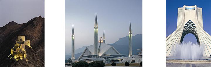 Muscat, Islamabad & Tehran