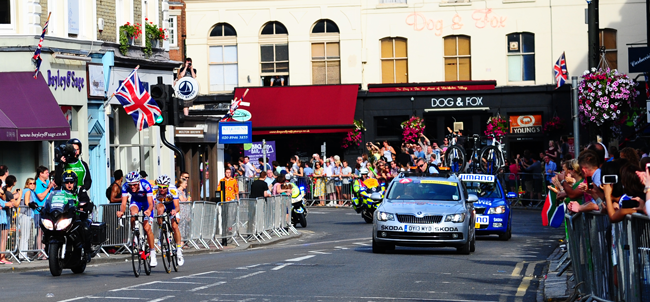 RideLondon brings Olympic cyclists to London