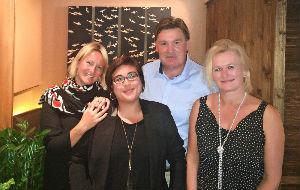 Celebrating Enhanced Partnership at Review Meeting in London. From L/R: Helena Egan, Head of Destination Marketing Sales, EMEAA, TripAdvisor; Sarah Mathews, Destination Marketing Senior Sales Manager APAC, TripAdvisor; Martin Craigs, CEO, PATA; Daniela Wagner, European Coordinator, PATA.