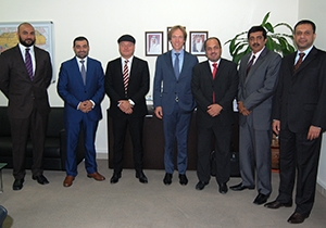 Bahrain Airport Company welcomed KLM Royal Dutch Airlines delegation to discuss matters of mutual benefit and future collaboration