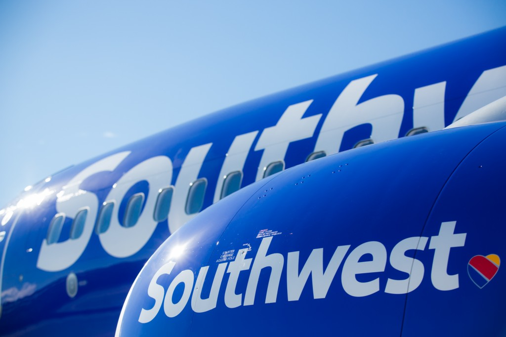 Southwest Airlines Unveils New Look with Heart Photo Credit: Stephen M. Keller