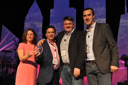 Shannon Airport wins lead award for best marketing of airports in the world under four million passengers at the World Routes Awards in Chicago